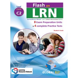 Flash on LRN C2 (8 Preparation Units & 4 Practice Tests) Student's Book