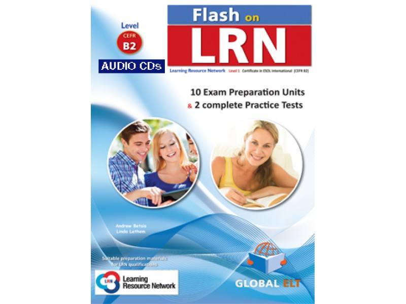 Flash on LRN B2 (10 Preparation Units & 2 Practice Tests) Audio MP3/CD