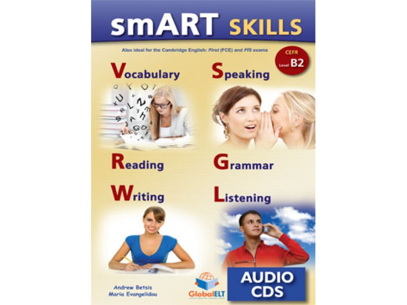 SMART Skills CEFR B2 - Cambridge English First 2015 Format - Audio CDs