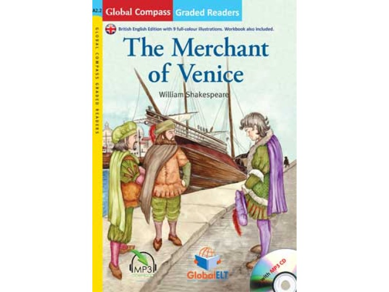 The Merchant of Venice with MP3 CD - Level A2.2