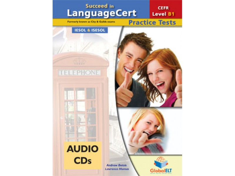 Succeed in LanguageCert - CEFR B1 - Practice Tests  -  Audio CDs