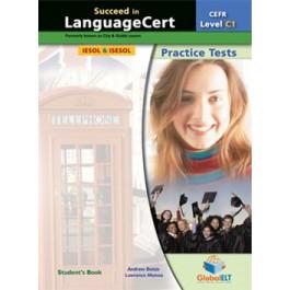 Succeed in LanguageCert - CEFR C1 - Practice Tests  - Student's book