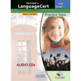 Succeed in LanguageCert - CEFR C1 - Practice Tests  -  Audio MP3/CD