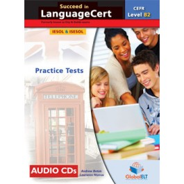 Succeed in LanguageCert - CEFR B2 - Practice Tests  -  Audio CDs