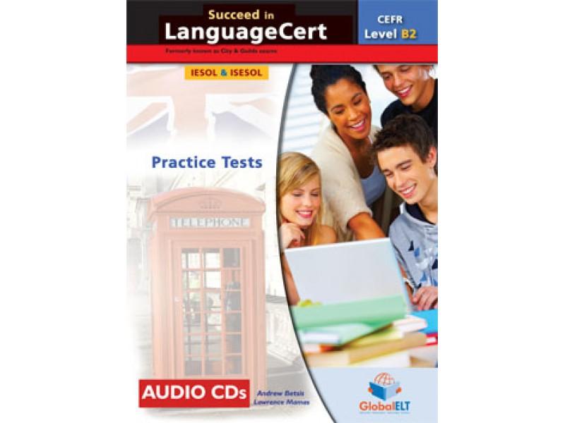 Succeed in LanguageCert - CEFR B2 - Practice Tests  -  Audio CDs