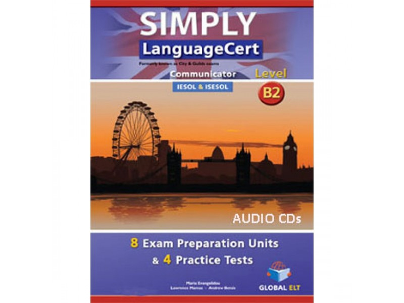 SIMPLY LanguageCert - CEFR B2 - Preparation & Practice Tests  -  Audio CDs