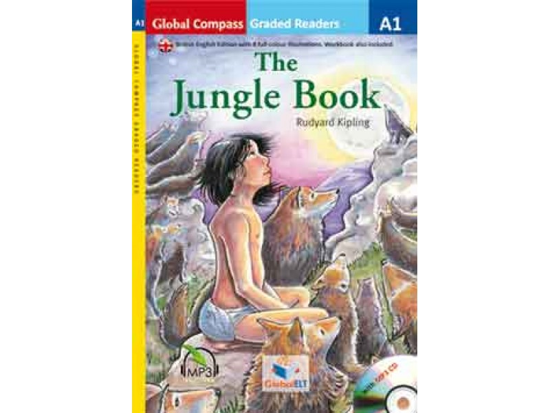 The Jungle Book with MP3 CD - Level A1