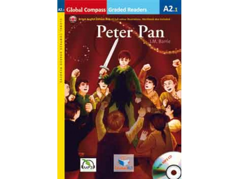 Peter Pan with MP3 CD - Level A2.1