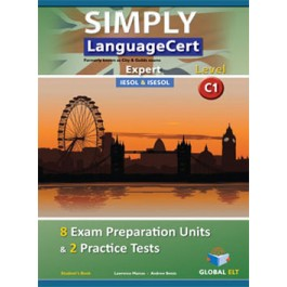 SIMPLY LanguageCert - CEFR C1 - Preparation & Practice Tests  - Student's book