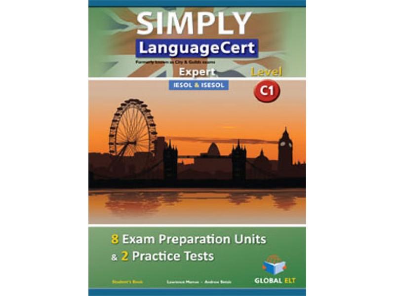 SIMPLY LanguageCert - CEFR C1 - Preparation & Practice Tests  - Student's book