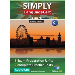 SIMPLY LanguageCert - CEFR C1 - Preparation & Practice Tests  -  Audio CDs