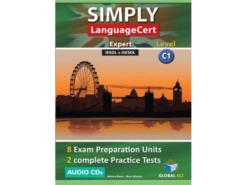 SIMPLY LanguageCert - CEFR C1 - Preparation & Practice Tests  -  Audio CDs