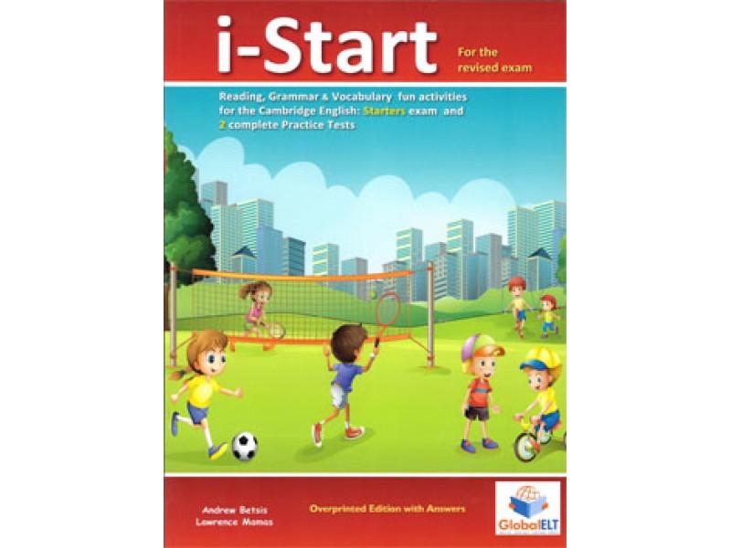 Cambridge YLE - STARTERS - i-Start - Teacher's Overprinted book