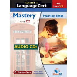 Succeed in LanguageCert - CEFR C2 - Practice Tests  -  Audio CDs