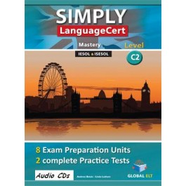 SIMPLY LanguageCert - CEFR C2  Preparation & Practice Tests Audio CDs
