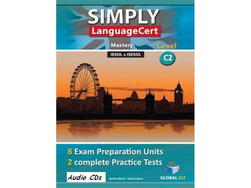 SIMPLY LanguageCert - CEFR C2  Preparation & Practice Tests Audio CDs