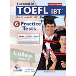 Succeed in TOEFL - 6 Practice Tests - Teacher's book