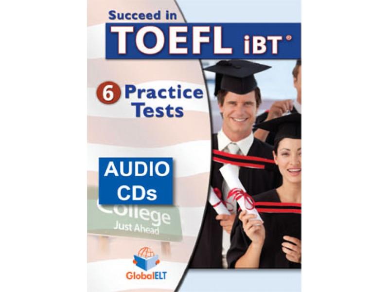 Succeed in TOEFL - 6 Practice Tests - Audio CDs