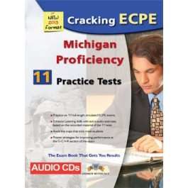 Cracking the Michigan (CAMLA) ECPE - 11 Practice Tests Audio MP3/CD