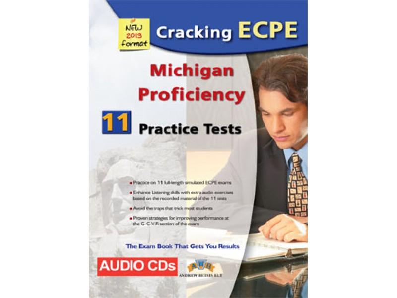 Cracking the Michigan (CAMLA) ECPE - 11 Practice Tests Audio CDs