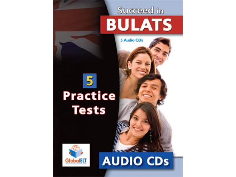 Succeed in BULATS - 5 Practice Tests Audio CDs
