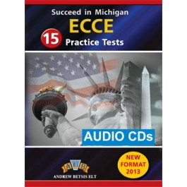 Succeed in Michigan ECCE - 15 Practice Tests Audio MP3/CD