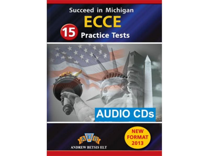 Succeed in Michigan ECCE - 15 Practice Tests Audio MP3/CD