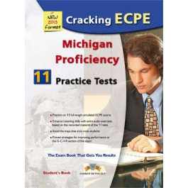 Cracking the Michigan (CAMLA) ECPE - 11 Practice Tests Companion