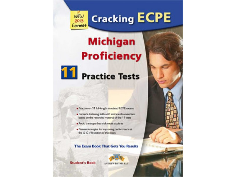 Cracking the Michigan (CAMLA) ECPE - 11 Practice Tests Student's Book