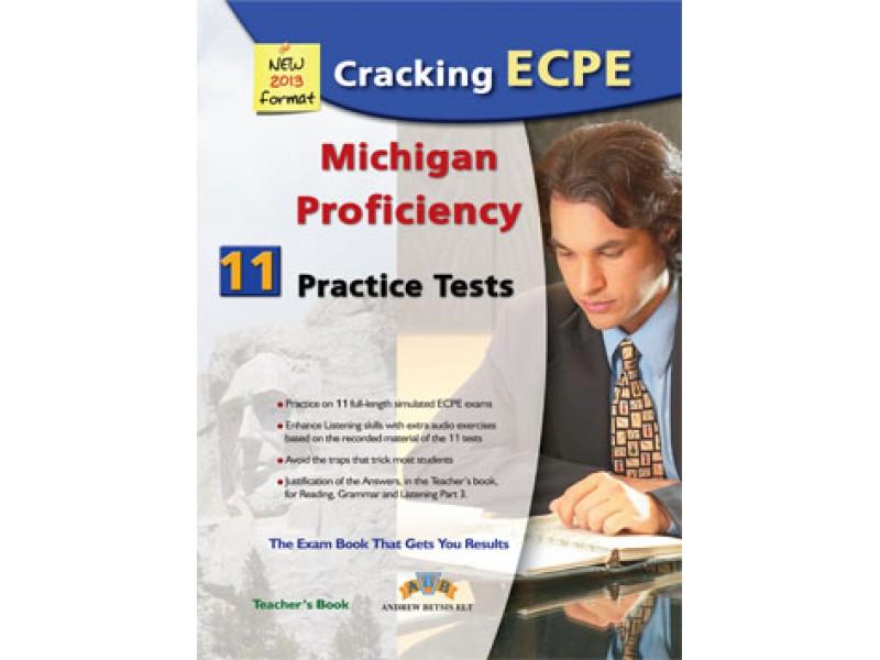 Cracking the Michigan (CAMLA) ECPE - 11 Practice Tests Teacher's Book
