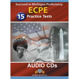 Succeed in the Michigan ECPE - 15 Practice Tests Audio MP3/CD