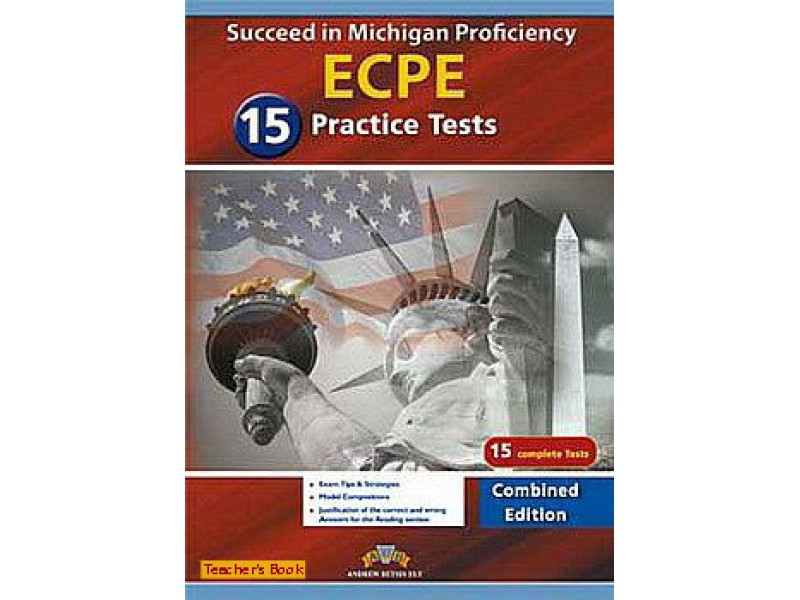 Succeed in the Michigan ECPE - 15 Practice Tests Teacher's Book