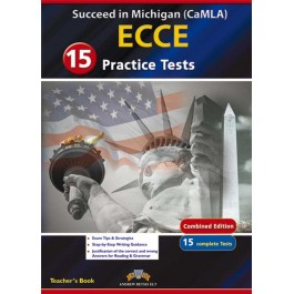 Succeed in Michigan ECCE - 15 Practice Tests Teacher's Book