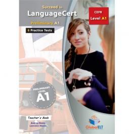 Succeed in LanguageCert - CEFR A1 - Practice Tests  - Teacher's book