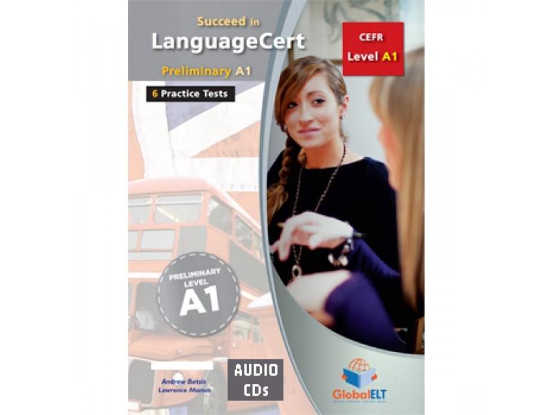 Succeed in LanguageCert - CEFR A1 - Practice Tests  - Audio CDs