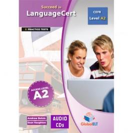Succeed in LanguageCert - CEFR A2 - Practice Tests  - Audio CDs