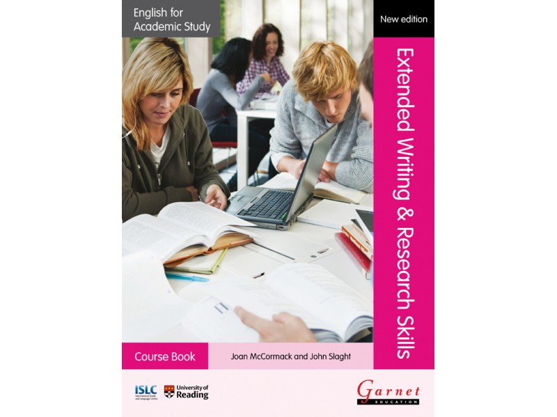 English for Academic Study: Extended Writing & Research Skills - Course Book NEW!