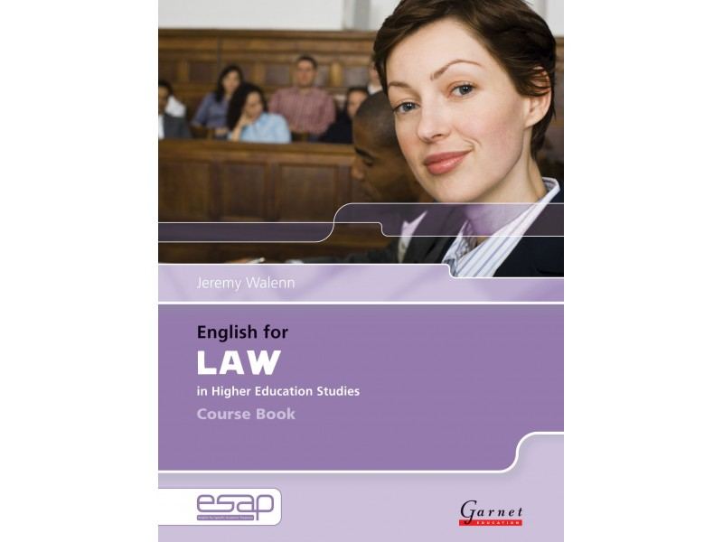 English for Law Course Book & Audio CDs (x2)
