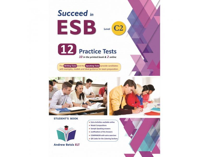 Succeed in ESB C2 - NEW 2021 Edition (10+2 Practice Tests) - Student's Book