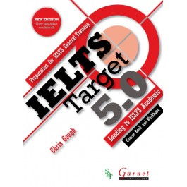 IELTS Target 5.0: Preparation for IELTS General Training – Leading to IELTS Academic (2013 edition) Combined Course Book and Workbook with audio DVD