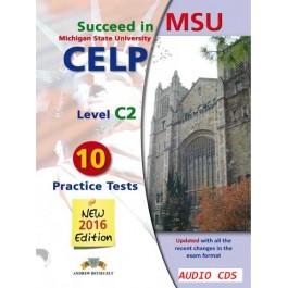 Succeed in MSU - CELP C2 - 10 Practice Test Audio CDs