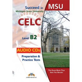 Succeed in MSU - CELC B2 - 10 Practice Tests Audio MP3/CD