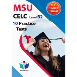 Succeed in MSU CELC 2021 format - 10 Practice Tests - Student's book
