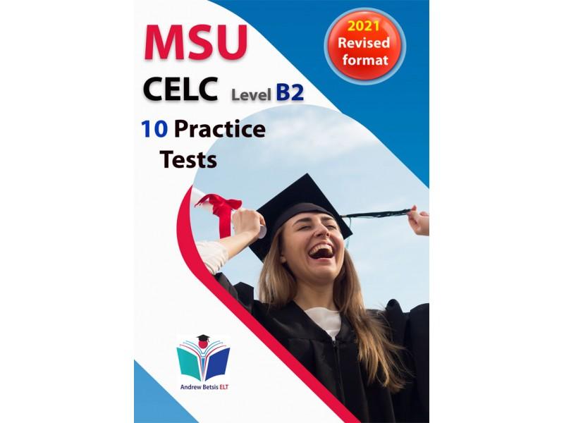 Succeed in MSU CELC 2021 format - 10 Practice Tests - Teacher's book