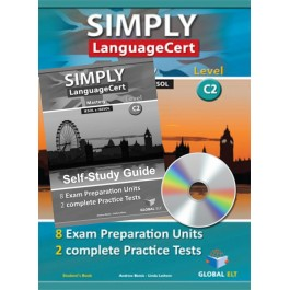 SIMPLY LanguageCert - CEFR C2  Preparation & Practice Tests   Self-study Edition