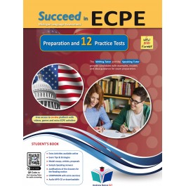 Succeed in ECPE Michigan Language Assessment NEW 2021 Format - 12 Practice Tests - Student's Book