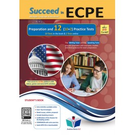Succeed in ECPE Michigan Language Assessment NEW 2021 Format (10+2) Practice Tests - Student's Book