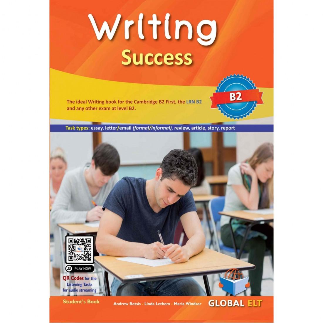 Writing Success - Level B2 - Student's book - GREEK EDITION