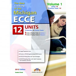 Cracking the Michigan (CAMLA) ECCE Volume 1 (1-8) Practice Tests Student's Book