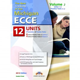 Cracking the Michigan (CAMLA) ECCE Volume 2 (9-12) Practice Tests Student's Book